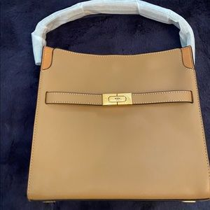💗Tory Burch Lee Radziwill Small Double Bag